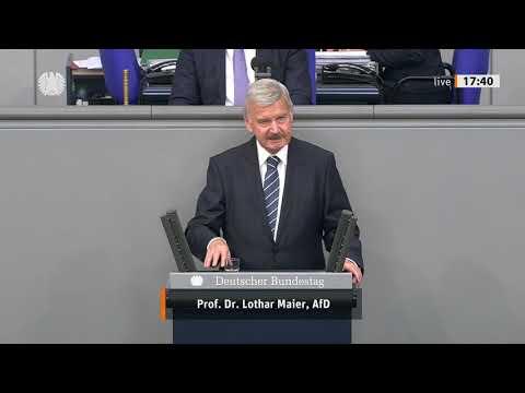 Prof. Dr. Lothar Maier - Rede vom 09.09.2020 - Beendigung des Bundeswehreinsatzes in Mali