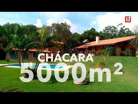 COD 5027. IBIÚNA- CHÁCARA EM CONDOMÍNIO COM 5.000 M²!