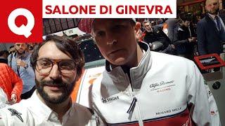 Kimi Raikkonen: «La Ferrari? Non mi manca per niente» - Salone di Ginevra 2019   Quattroruote
