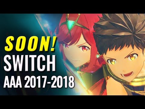 15 Upcoming Triple A Nintendo Switch Games of 2017-2018