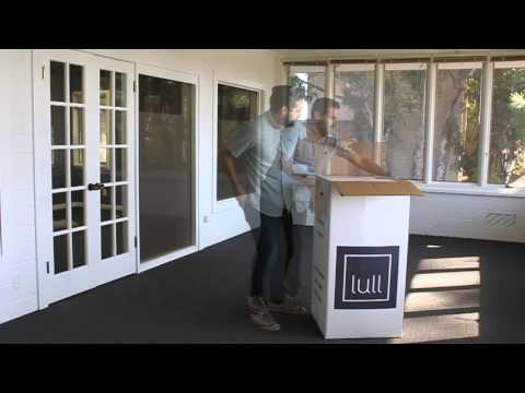 Unboxing Your Lull Mattress