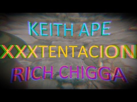XXX x KEITH  x  CHIGGA --- GOSPEL [Lyric Video] CORRECT LYRICS