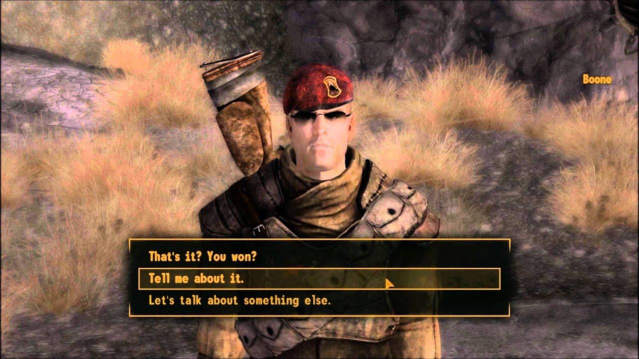 Boone Fallout