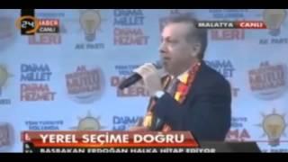 Recep Tayyip Erdogan`dan Ozlu Sozler . Yarani Bulduk !
