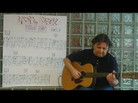 Fingerstyle Guitar Lesson #82: LADY IN BLACK (Uriah Heep)