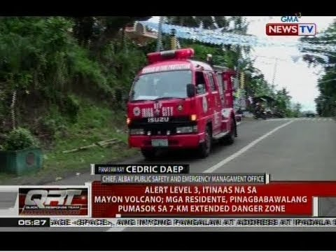 QRT: Panayam kay Cedric Daep, Chief, Albay Public Safety and Emergency Management Office