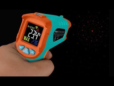 ⚡💥🔥 Бесконтактный инфракрасный термометр цифровой Mileseey на Алиэкспресс
