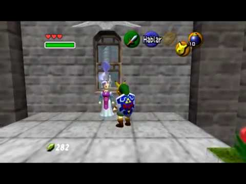 Las reacciones de Zelda al ver a Link con mascaras ( The Legend of Zelda Ocarina of Time)