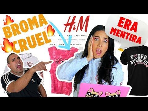 VENDEN MI NUEVA LINEA DE ROPA EN H&M ?BROMA CRUEL DE MI NOVIO ? | Mariale thumbnail