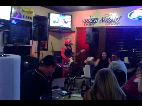 Luke's Sports Bar & Grill! Rock Hill,SC  - Rock Star cover of Funky Whiteboy