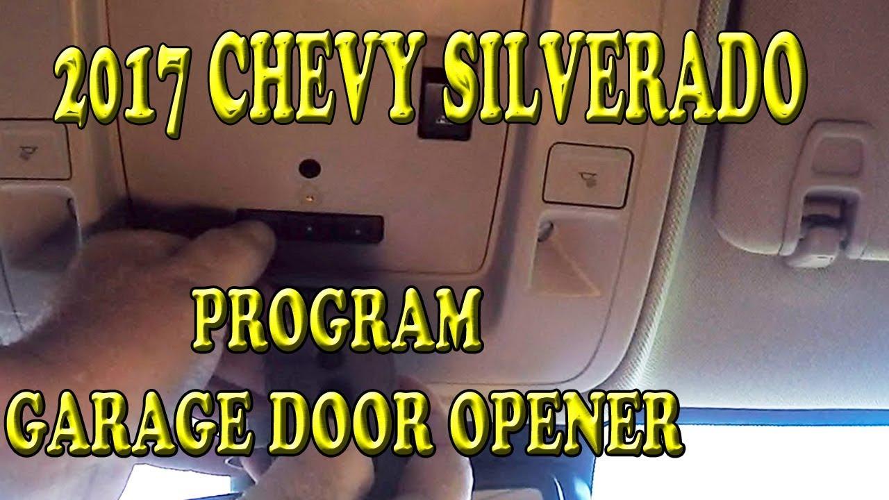 2017 chevrolet silverado programming garage door opener [ 1280 x 720 Pixel ]