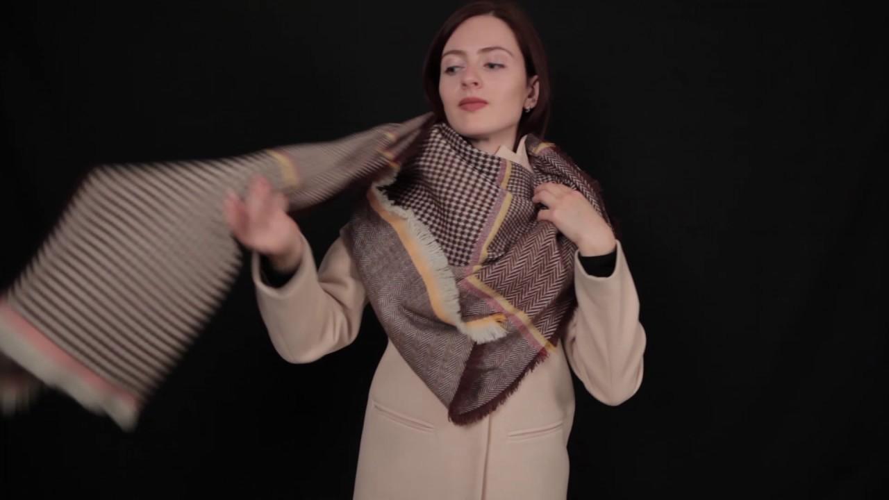 28 способов красиво завязать платок | Журнал Ярмарки Мастеров | 720x1280