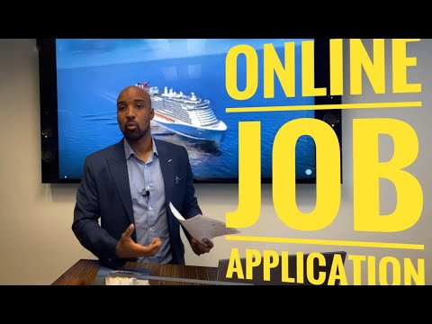 HOW TO APPLY ONLINE / WORK ON A SHIP
