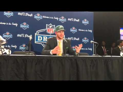 Carson Wentz Philadelphia Eagles NFL Draft 1st Round Pick Interview 2016 #NFLDraft