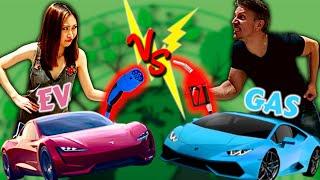 Electric Car MYTHS vs FACTS, Environmental Impact EV vs Gas Car