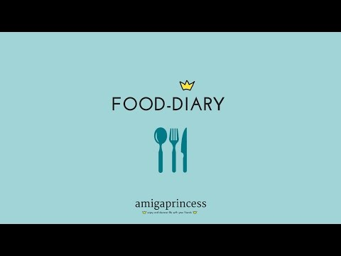 Amigaprincess - Food Diary #1