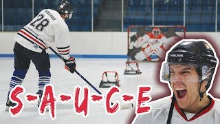 Hockey S-A-U-C-E (HORSE) Competition | SweetSpotSquad