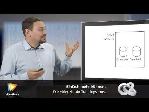 Datenbank-Grundlagen Tutorial: Begriffserklärungen |video2brain.com