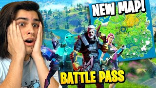FORTNITE SEASON 11 NEW MAP & BATTLEPASS!
