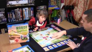 JAH Plays - Robot Turtles as a board game for 4 year olds