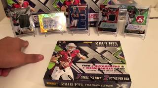 2018 Panini XR Football Box Opening #3 Hunt For The Case Hit!!!