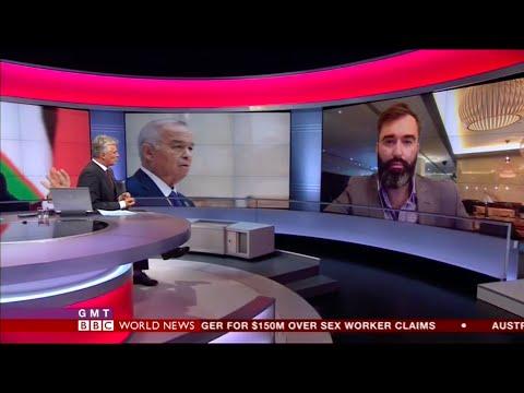 Is Uzbek president Karimov dead? Peter Zalmayev (Залмаев) talks to BBC, Sept 2