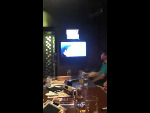 Karaoke night in Japan