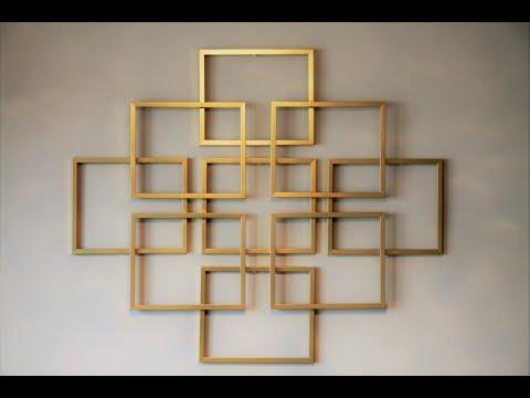 DIY Easy Wall Decor -  Metal Wall Art @simplehomecrafts