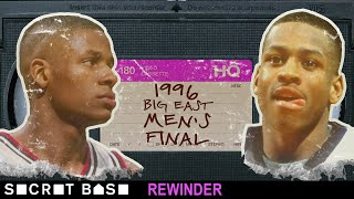 Ray Allen vs. Allen Iverson in the closing seconds of the 1996 Big East Final needs a deep rewind