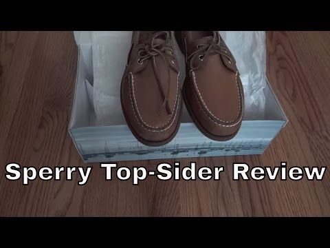 Sperry Top-Sider Authentic Original Shoe Review - FULL HD