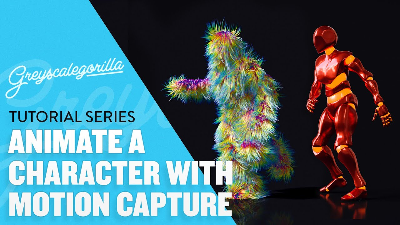 How To Find And Import Motion Capture Data Into Cinema 4D
