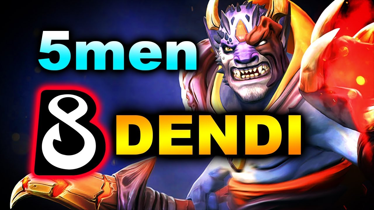 DENDI B8 vs 5Men - NEW ROSTER! - OMEGA League DOTA 2