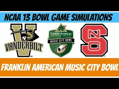 Franklin American Mortgage Music City Bowl - Vanderbilt vs. NC State (NCAA 13 Simulation)