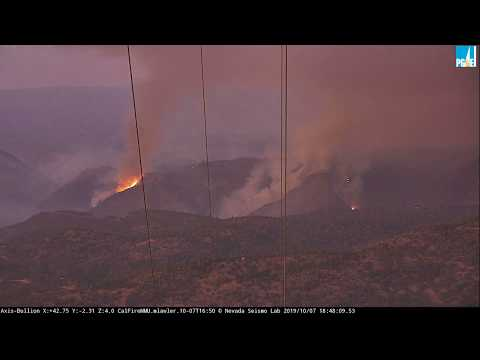 Yosemite-area fire doubles in size ahead of high winds