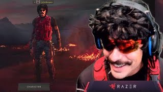 DrDisRespect Reacts to His Blackout Skin Concept and Plays Duos w/ CDNThe3rd on Fortnite (9/17/18)