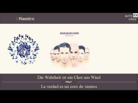 Rammstein - Album Herzeleid - Der Meister (subtitulos Español y Aleman)