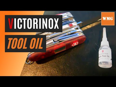 Victorinox Lubricating Oil - folding knife lubricant - WhatsMyGear.com - Gear Review