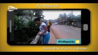 Yo Reporto desde Bilwi la contaminación