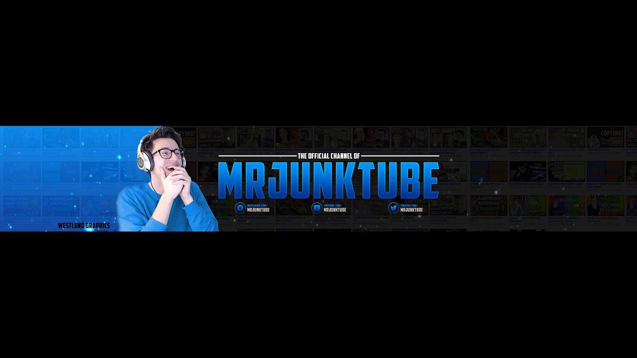 Mrjunktube Youtube Banner Speed Art Westlund Graphics Youtube