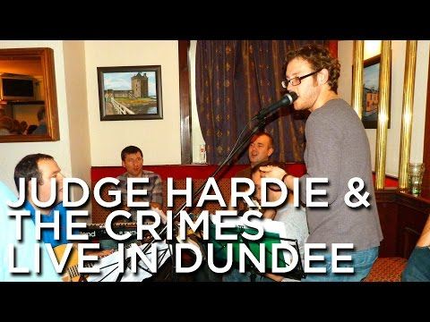 2012-06-30 'Judge Hardie & The Acoustic Crimes' @ 'Ferry Music Festival', The Occidental Bar, Brough