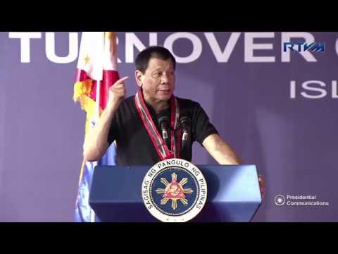 Turn Over of the 1st FFCCCII Rehabilitation Facility (Speech) 2/24/2017