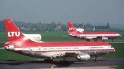 Flughafen Düsseldorf in den 90er Jahren / alte Erinnerungen