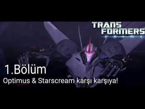 Optimus & Starscream karşı karşıya!  - Transformers Prime 1.Bölüm - minika Go