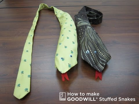 How to Create a Stuffed Snake with Items from Goodwill.mp4