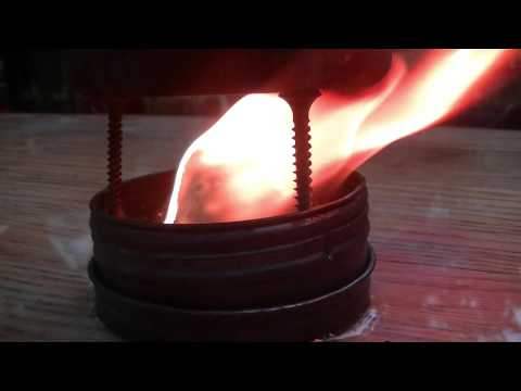 Boiling Water With Pine Sap - Test 1