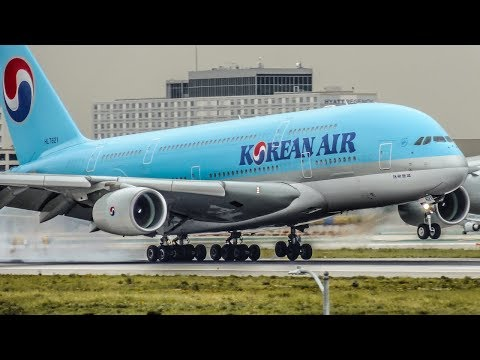 HEAVIES 2017   1 HOUR Plane Spotting Compilation   A380, 747, A350, 787 + more