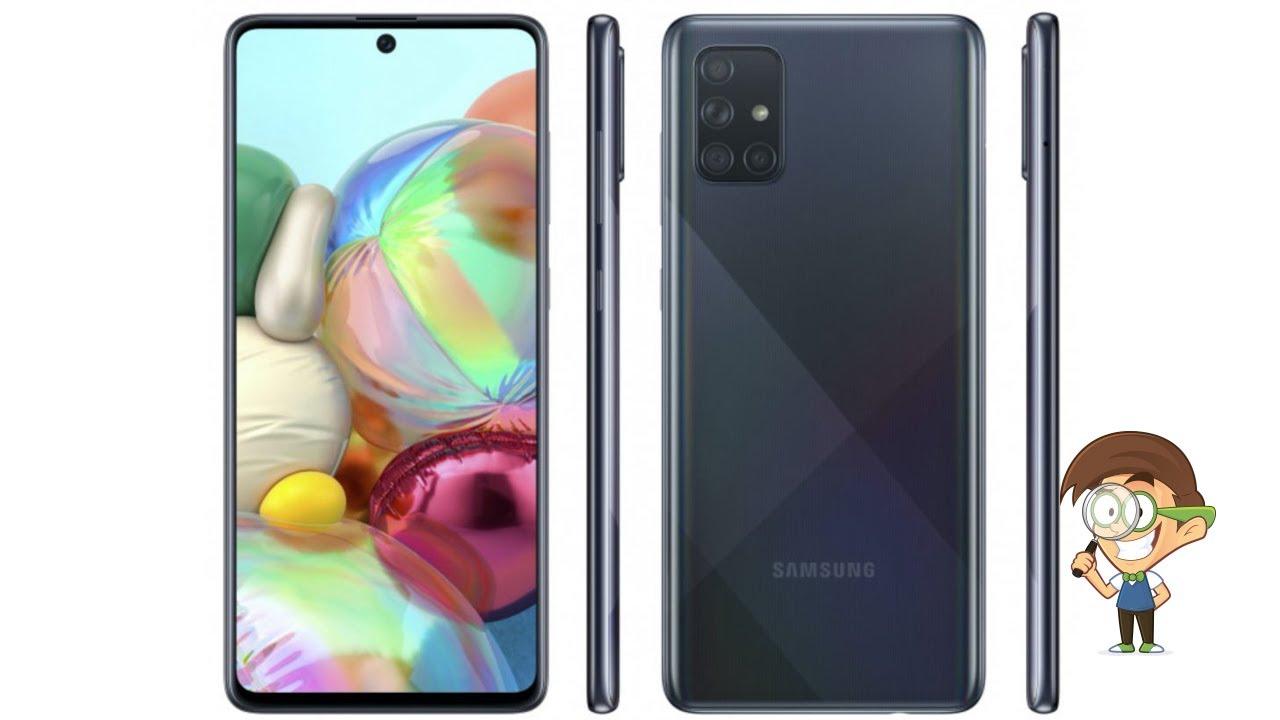Samsung Galaxy A71 и первый голографический звонок в сети 5G