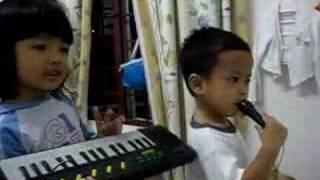 Dina & Abil karaoke