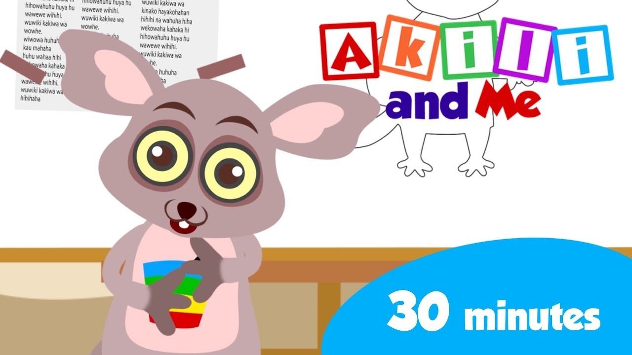 Learn with Bush Baby!  | 30 minutes of  Educational Cartoons
