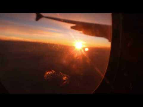 Sunrise from the above 12000 m ;HD; 4K; Flat horizon =Flat Earth thumbnail